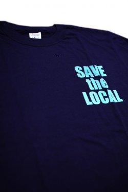 画像1: SAVE the LOCAL S/LOGO S/S TEE