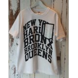 VOTE MAKE NEW CLOTHES 「90'S TEE  5 BORO ZIP PKT」