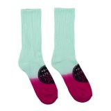 WELCOME SIGIL DIP-DYED SOCKS
