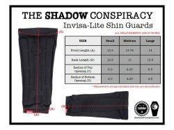 画像2: THE SHADOW CONSPIRACY INVISA-LITE SHIN GUARDS