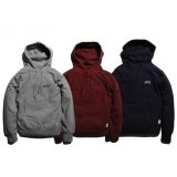 PANCAKE ARCH LOGO PULL OVER HOODIE