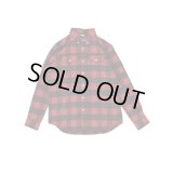 FTC BLOCK PLAID NEL B.D L/S SHIRT 「HOLMES」