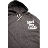 SAVE the LOCAL F/Z SWT HOODY