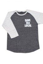 他の写真1: SAVE the LOCAL S/LOGO RAGLAN TEE