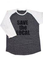 他の写真1: SAVE the LOCAL B/LOGO RAGLAN TEE