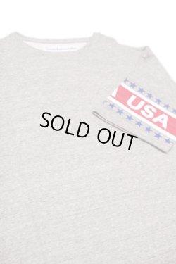 画像1: 【50% OFF】 VOTE MAKE NEW CLOTHES 「USA SLEEVE BIG TEE」