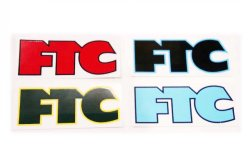 画像1: FTC 「OG LOGO STICKER」