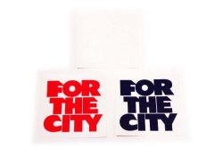 画像1: FTC 「FOR THE CITY STICKER」