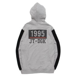 画像2: 【タイムセール!!】【30% OFF】 DGK x JT&CO TIMELESS CUSTOM ZIP HOODED FLEECE