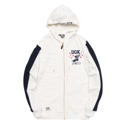 画像1: 【タイムセール!!】【30% OFF】 DGK x JT&CO TIMELESS CUSTOM ZIP HOODED FLEECE