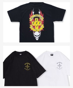 画像1: FTC x X-LARGE x BULLDOG ART XXX-XXV TEE