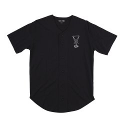 画像1: WELCOME S/S BASEBALL JERSEY 「SCRAWL」