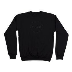 画像1: WELCOME Latin Lightweight Crew Neck Fleece
