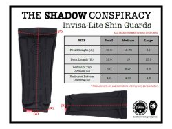 画像2: THE SHADOW CONSPIRACY INVISA-LITE SHIN GUARDS