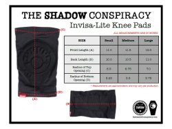 画像2: THE SHADOW CONSPIRACY INVISA-LITE KNEE PADS