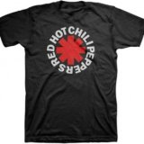 RED HOT CHILI PEPPERS DISTRESSED ASTERISK S/S TEE