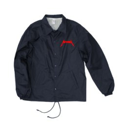 画像1: AUTHEN METAL LOGO COACH JACKET