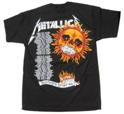 画像2: METALLICA FLAMING SUN S/S TEE