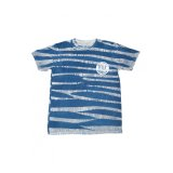 The Trip Blue Stripe Tie-Dye Trixton T-Shirt
