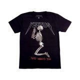 KANYE WEST YEEZUS GOD WANTS YOU SKELETON S/S TEE