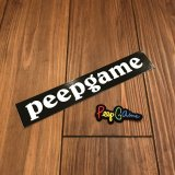 Peep Game Patch & Sticker Set