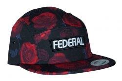 画像1: Federal Patch Logo 5 Panel Cap