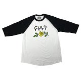 CULT In Bloom 3/4 RAGLAN TEE