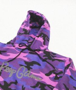 画像2: Peep Game 3M Reflective Script Logo Hoodie