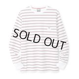 FTC STRIPED L/S TEE