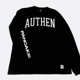 AUTHEN × PANCAKE ARCH LOGO LONG SLEEVE TEE