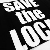 SAVE the LOCAL LOGO タオル