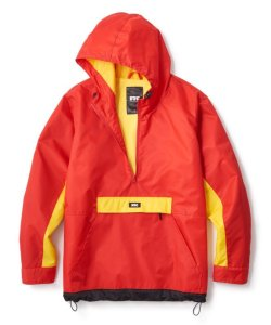画像1: FTC COLOR BLOCKED ANORAK JACKET