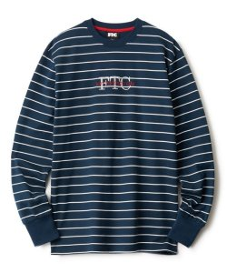 画像1: FTC PIN STRIPE L/S TOP