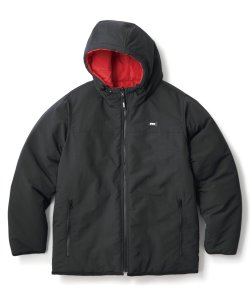 画像1: FTC REVERSIBLE HOODED PUFFY JACKET