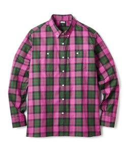 画像1: FTC PLAID TWILL B.D SHIRT