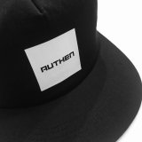 AUTHEN SQUARE BOX LOGO MESH CAP