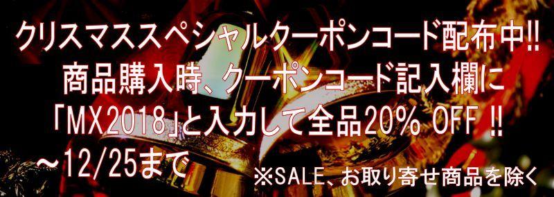 期間限定クリスマススペシャルクーポンコード配布中!!
